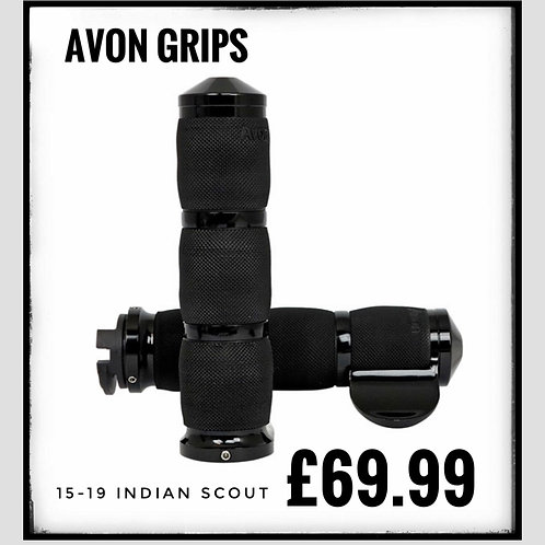 Indian scout grips