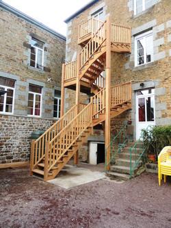 Escalier extérieur 3 niveaux