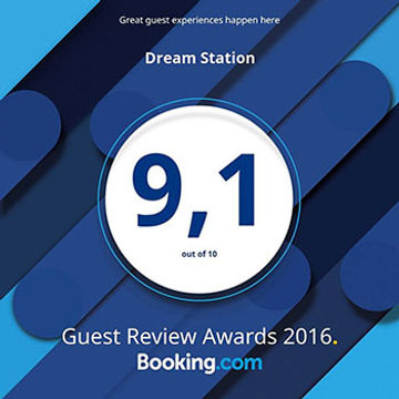 Dream Station booking.com reviews