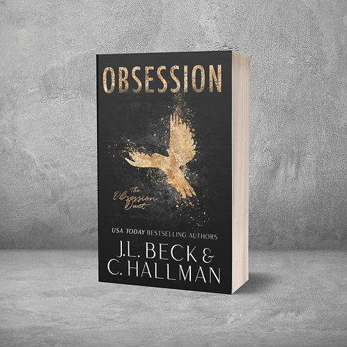 Obsession Duet Signed Paperbacks