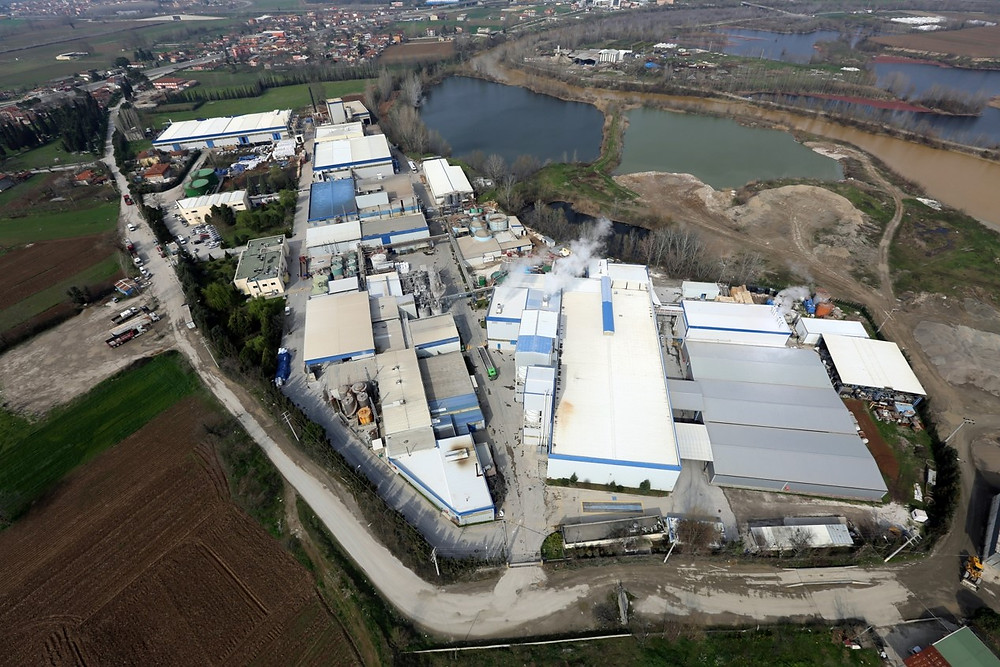 EGE Kimya Aerial View of Adapazarı Plant, Turkey