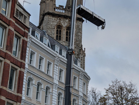 Energy Efficient Refurbishment in  Central London