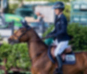 Sponsored Rider Laura Kraut and Cedric