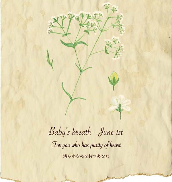 6月 誕生日花