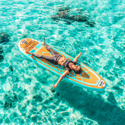 Soaking up rays in French Polynesia