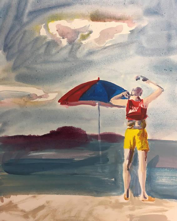 L'Homme de la plage (2019)