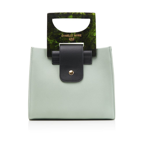 The HANNA Shopper Bag - Seafoam Green