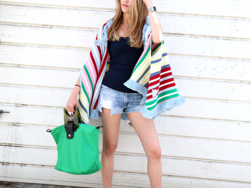 Here is how our CEO styles her green ANNAH tote bag!