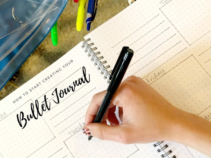 How To Start Creating Your Bullet Journal If You Never Made One