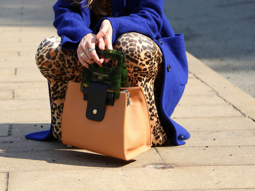 Find Your Wild Side With Leopard Print & A Statement Handbag