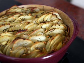 Quick and Easy Garlic & Rosemary Potato Roast