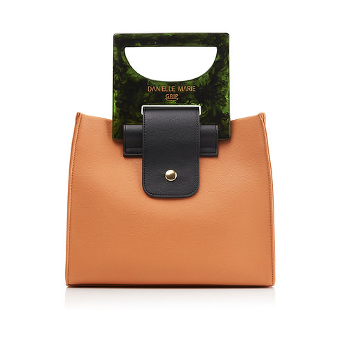 The HANNA Shopper Bag - Rust Orange