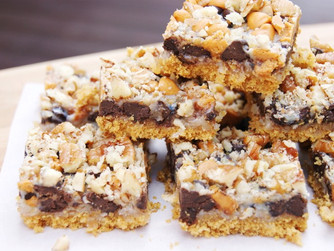 Snack Up For The Super Bowl With Seven Layer Bars