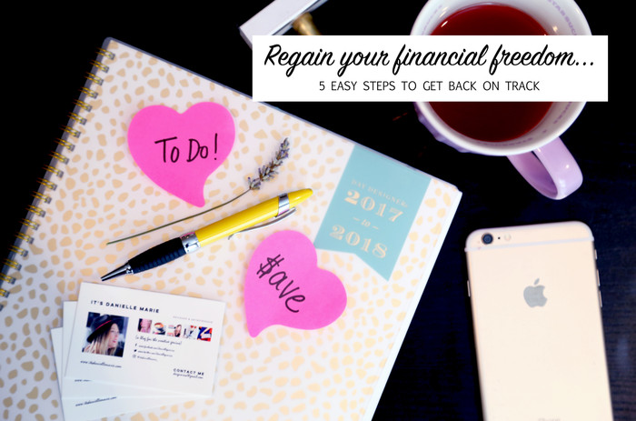 Regain Financial Independence Fast With These 5 Easy Steps