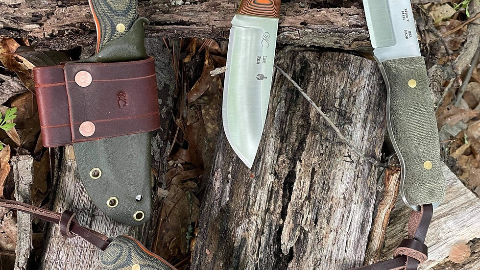 True North (Yakut Variation) and kydex sheath