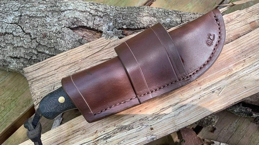 EDC and northern skinner leather sheath