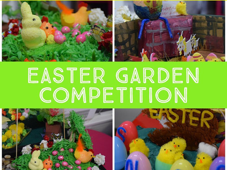 Easter Garden Competition!