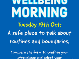 Wellbeing Morning