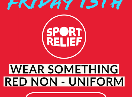 Sport Relief at Sandon!