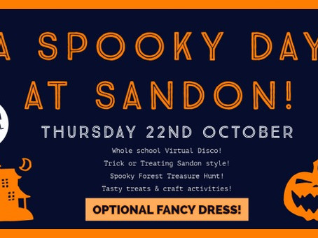 A Spooky Day at Sandon!