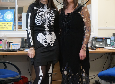 Spooky Day at Sandon!