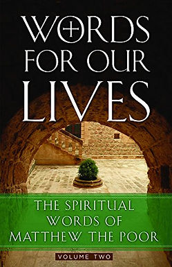 Words for Our Lives: The Spiritual Words of Matthew the Poor: Vol 2