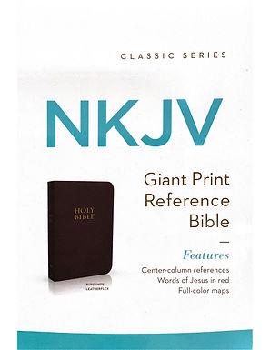 NKJV - Giant Print Reference Bible