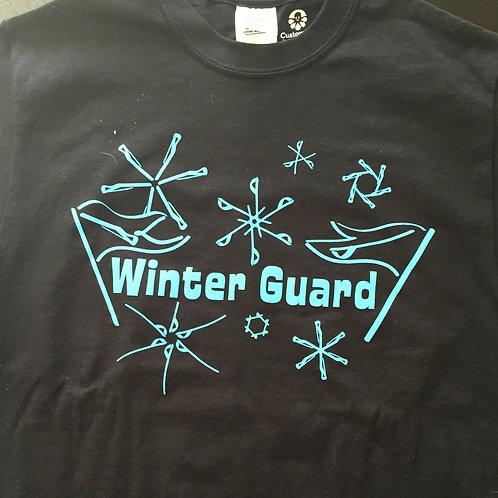 Winter Guard Snow Flake T-Shirt