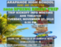 2020 Band-Orchestra Trip Flyer - Made wi