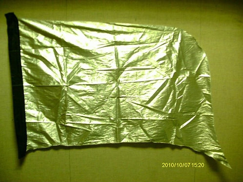 Silver Lame Flags (set)