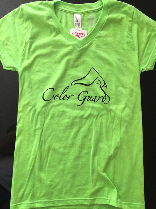 Color Guard V-Neck Shirt