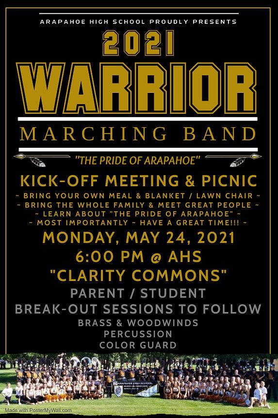 2021 Marching Band Kick-off Meeting & Pi