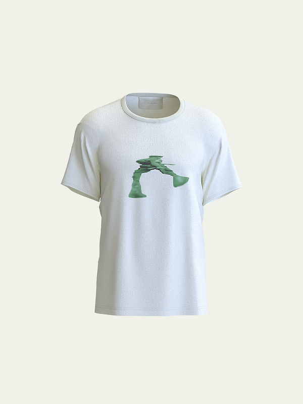 Green Graphic Front View Tee.png
