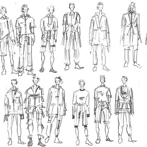 Menswear Practice
