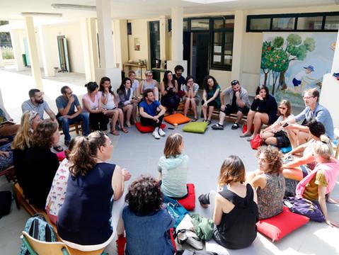 International meeting in Ai-Stratis