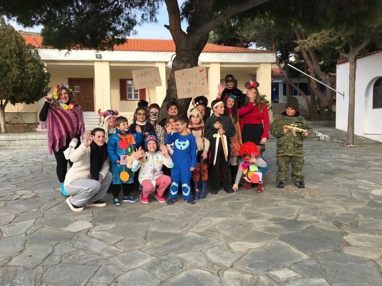 Carnival in Agios Eustratios