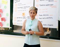 Maria Kakali, Mayor of Agios Eustrations