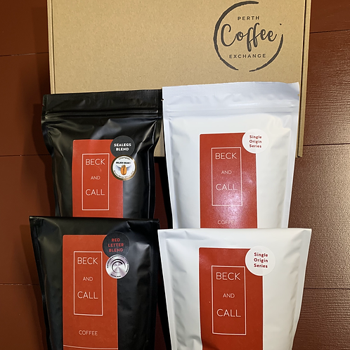Beck and Call Coffee Tasting Box