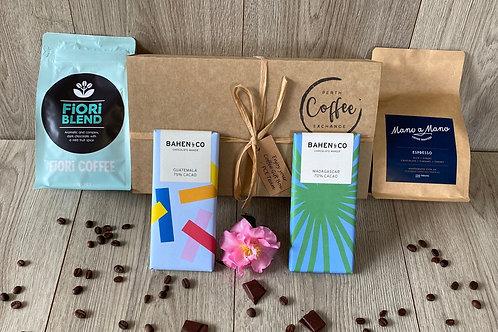 Coffee Chocolate Tasting Box