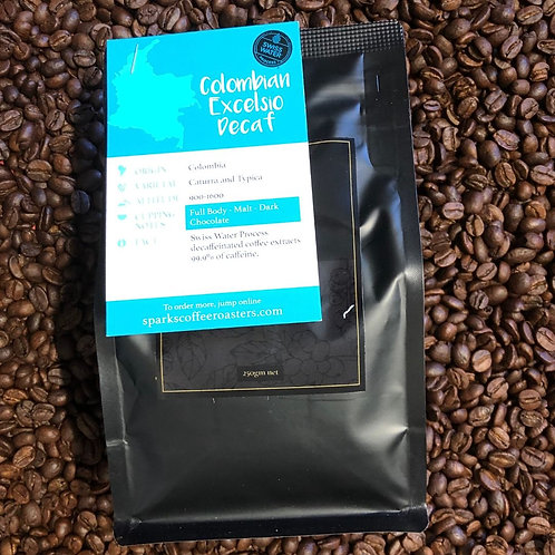 Sparks Colombian Decaf