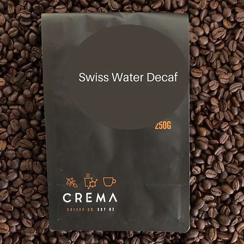 Crema Swiss Water Decaf