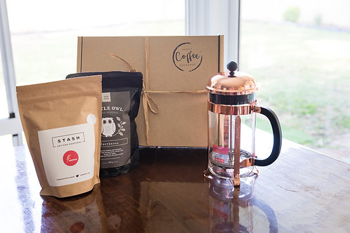Deluxe French Press Gift Box
