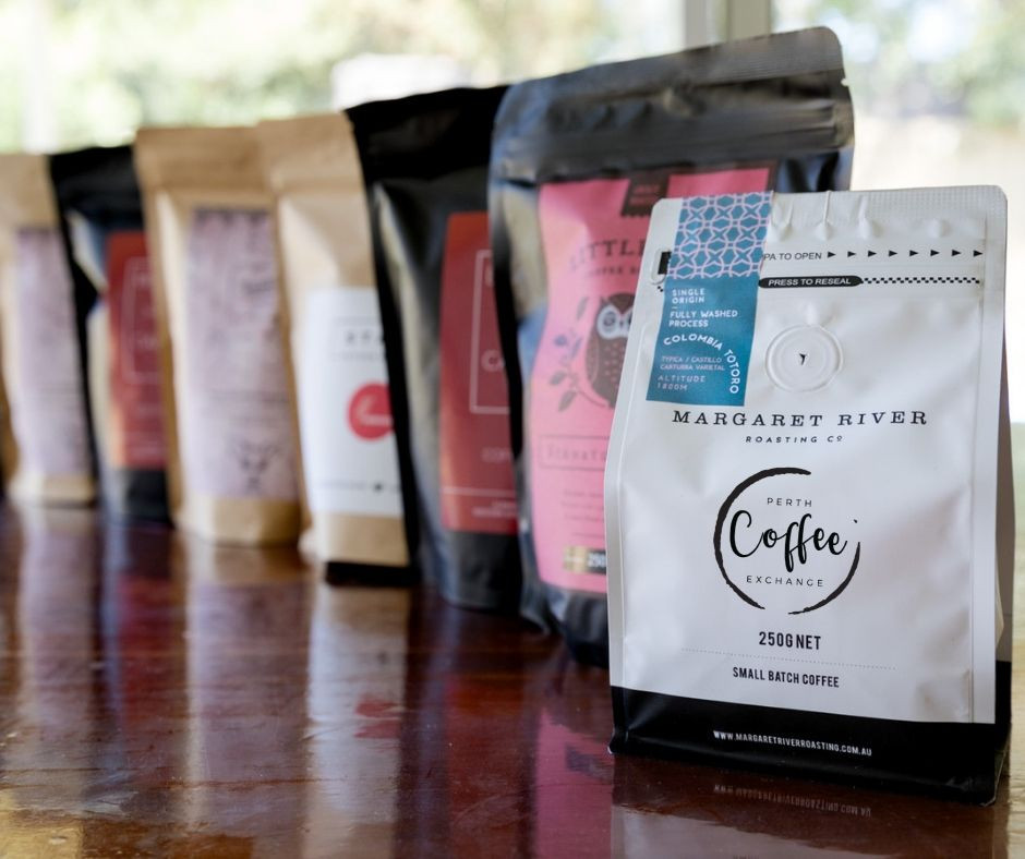Experience a variety of local coffees today
