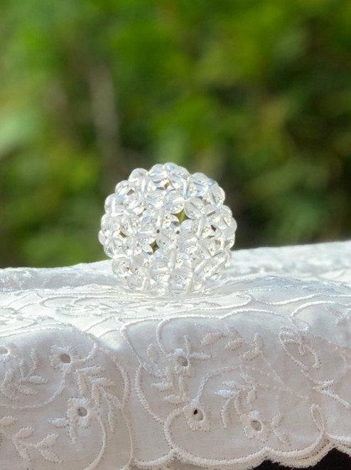 フラーレン 天然水晶AAA 6ミリ玉