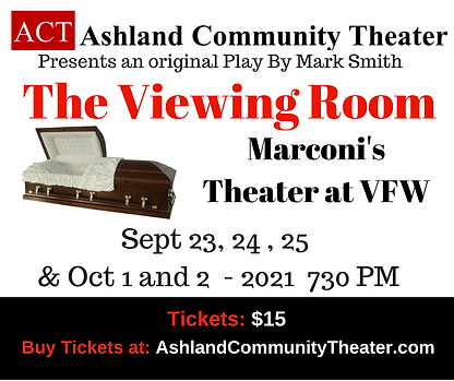ACT The Viewing Room- Lawn Sign (Fall 20