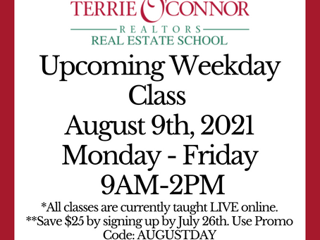 August 9th, 2021 Class!