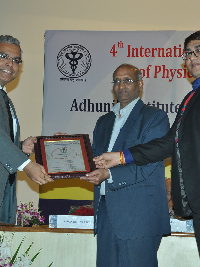 DR. DHARAM AWATDS & HONORS-18