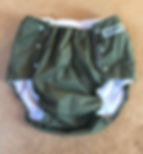 Adult Cloth Diaper by Snap-EZ: Olive Green