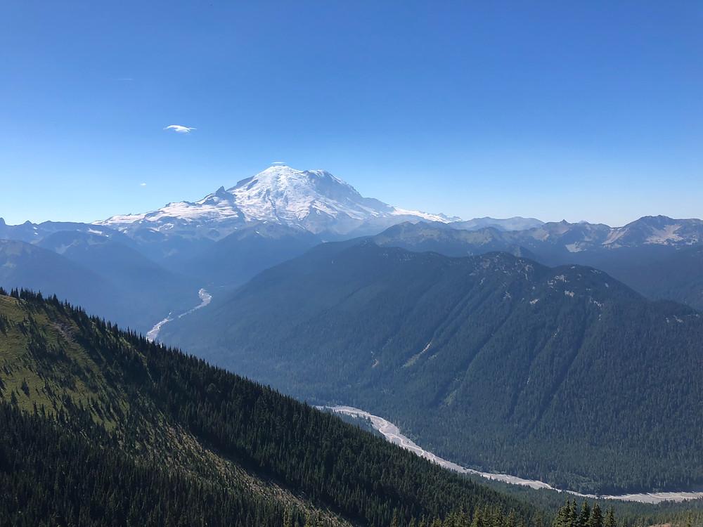 Mt. Rainier on a sunny Day!