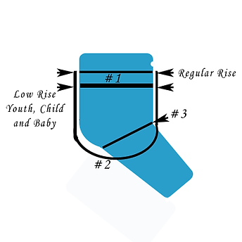 How to Measure Snap-EZ Cloth Diapers
